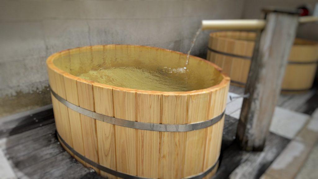 ヒノキ樽風呂リニューアル2021‐2